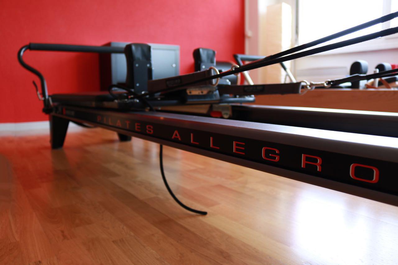 Pilates-Allegro, Reformer