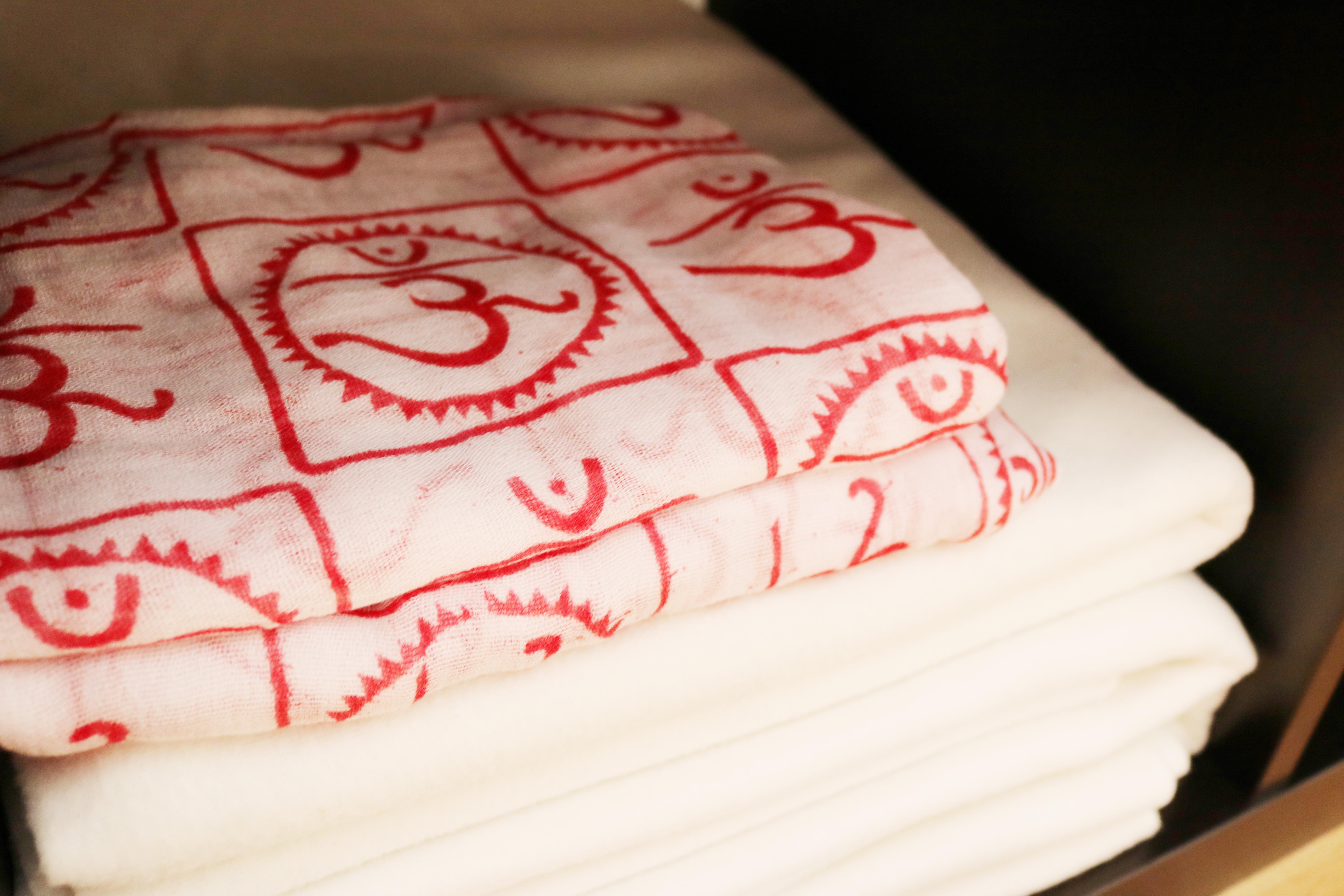 Wolldecken, OM-Tücher