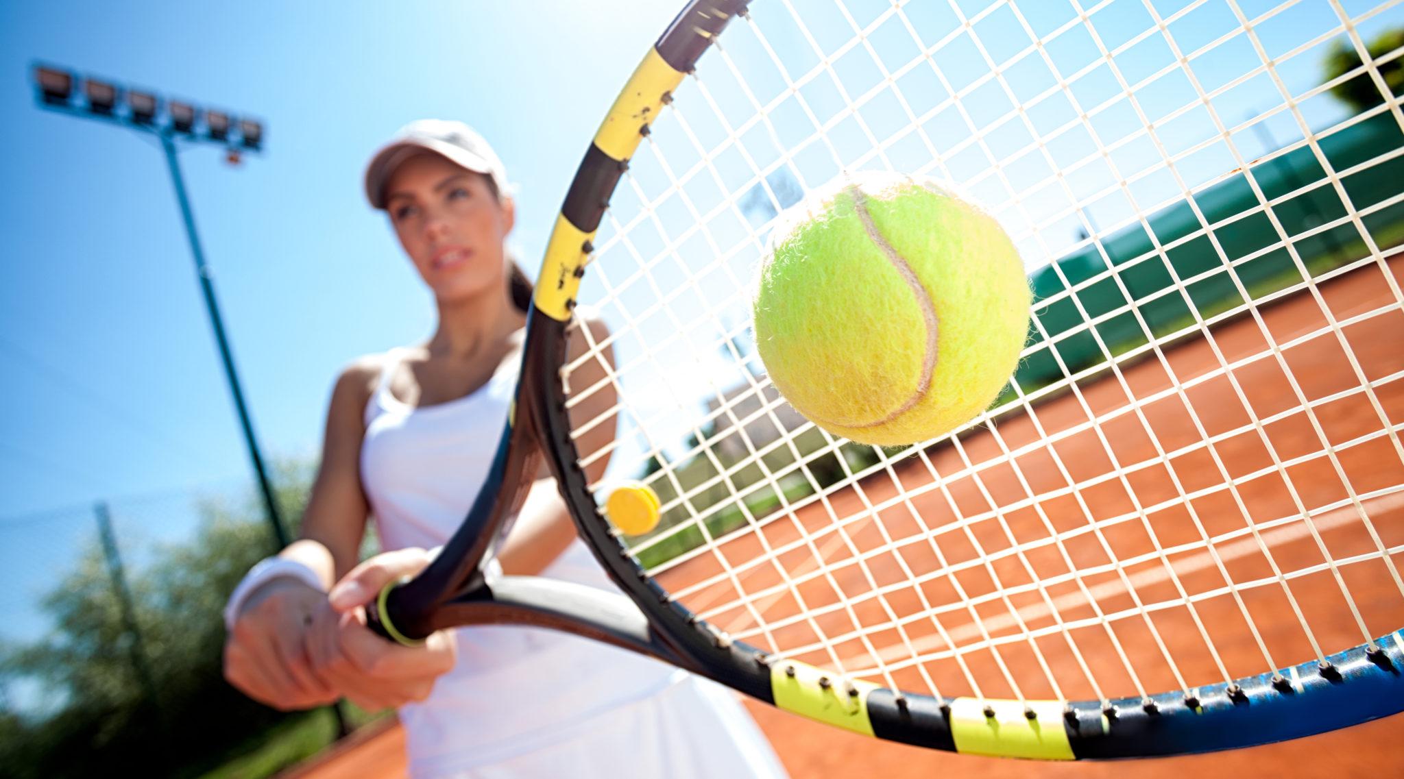 Pilates und Tennis