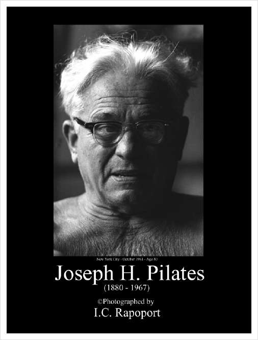Foto Joseph Hubertus Pilates 1880-1967