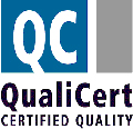 Logo QualiCert, Certidied Quality