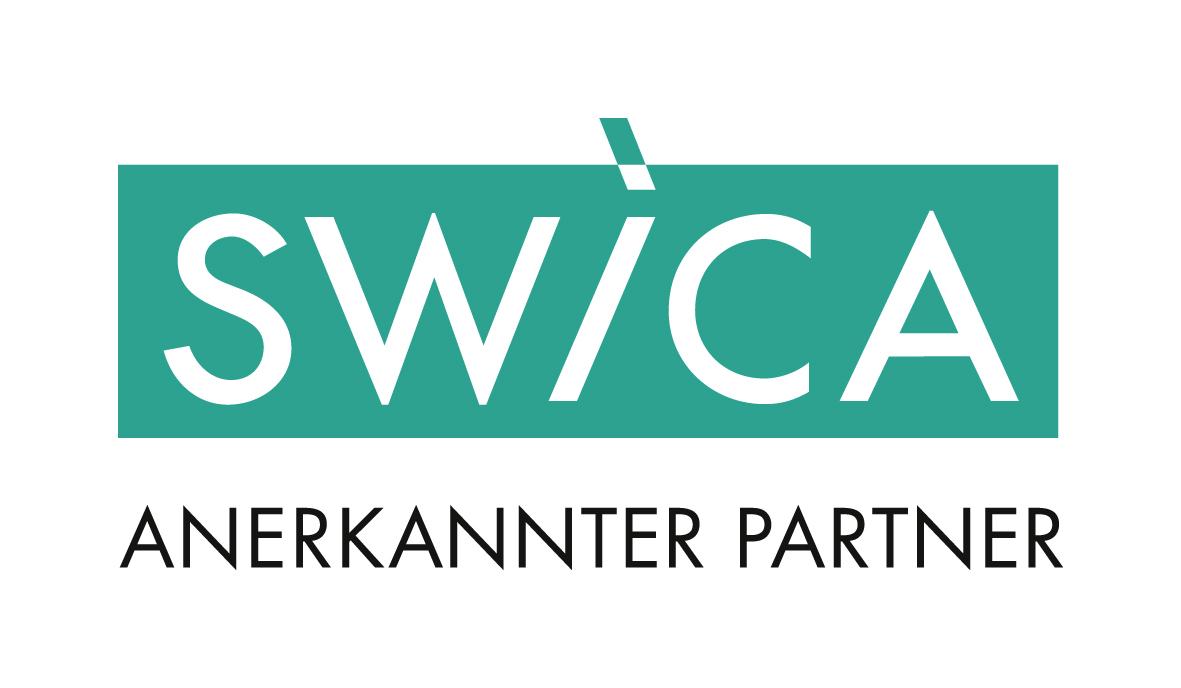Logo anerkannter SWICA Trainer